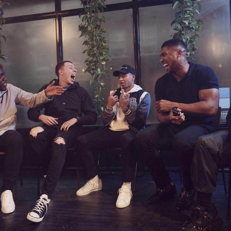 Lynx - You're Hotter When You're Chill feat. Anthony Joshua, Mo Gilligan, Calfreezy, Jesse Lingard